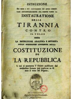 Libri Vintage per l'Infanzia - L'instaurazione della Tirannia
