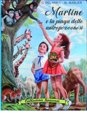 Libri Vintage per l'INfanzia | Martine e la piaga delle antropozoonosi