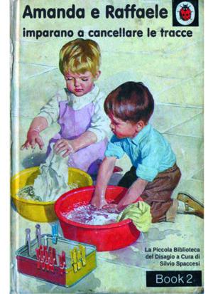 Libri Vintage per l'Infanzia | Amanda e Raffaele imparano a cancellare le tracce